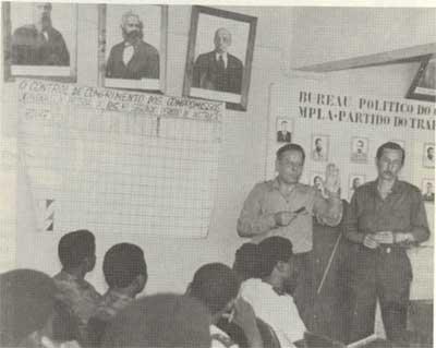 Soviet and Cuban advisers in Angola - realpolitik?
