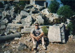 My own experience with the ruins of a vanished civilization, along the Turkish coast in 1993