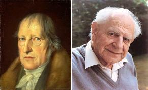 Hegel or Popper? Dialectic or falsifiability? Pick your formulation.