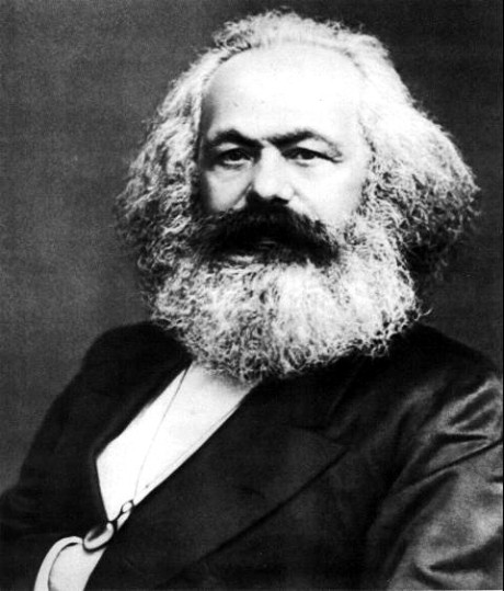 """History does nothing; it does not possess immense riches, it does not fight battles. It is men, real, living, who do all this."" Hence the role of individual intiative and self-interest, thought Marx didn't see it this way."