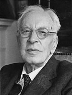 Arnold Toynbee, author of A Study of History