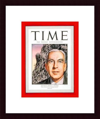 Toynbee on the cover of Time magazine, March 1947