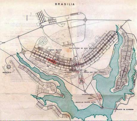 Plan of Brasilia