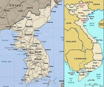 Do either of these look like China to you? Notice they are both colored pink in the map above. Maybe we should ask the locals what they think.