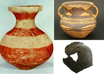 clay pots were part of the neolithic agricultural revolution.