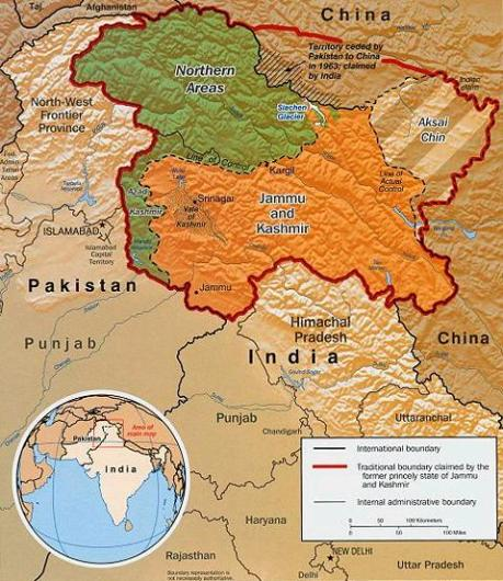 Kashmir is the legacy of every conceivable political problem of the modern era.