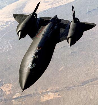 "The SR-71 ""Blackbird"" was one of the triumphs of Cold War technology; its development is chronicled in the book Skunk Works."