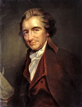 Thomas Paine (29 January 1737 – 08 June 1809)