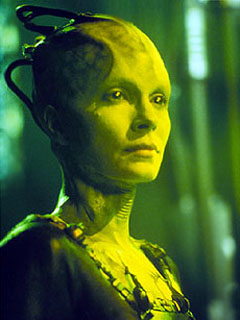 The Borg Queen: one of the creepiest and most menacing film villains of recent years.