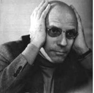 "Foucault sought to map the spaces of knowledge, and called his chair that of ""History of systems of thought"""