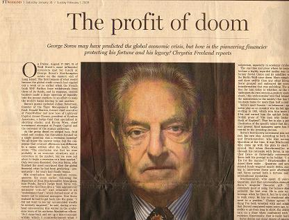 george soros wiki. it as his duty to lecture