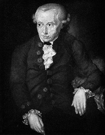 Immanuel Kant (1724-1804) was a pioneer of abstract illusions.