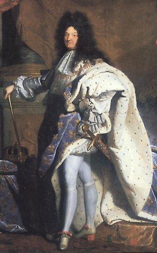 """le Roi Soleil: Louis XIV (baptised as Louis-Dieudonné, """"Louis God-given"""") (5 September 1638 – 1 September 1715)"""