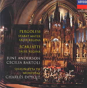 One of my favorite recordings of Pergolesi's Stabat Mater.