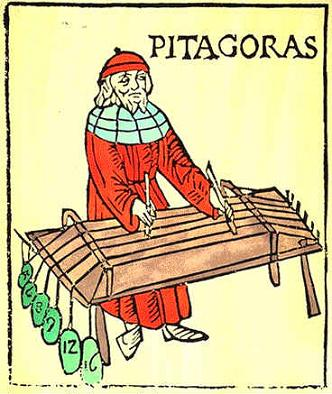 The scientific treatment of music began with Pythagoras.