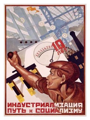 """the """"first responders"""" of socialist industrialization."""