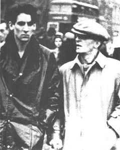 Wittgenstein, on the left, wrote one of the masterpieces of twentieth century philosophy, the Tractatus Logico-Philosophicus