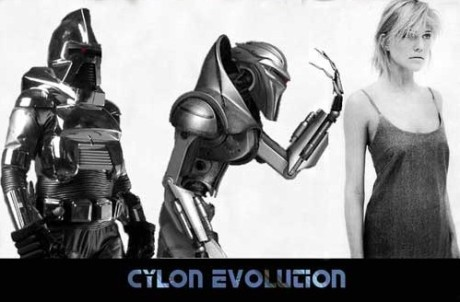 "The Cylons of Battlestar Galactica undergo self-driven adaptive radiation, apparently motivated by their grand strategy of dominating the known universe, also known as ""The Plan."""