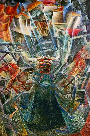 Boccioni's Materia: The Futurists celebrated a world of violence and speed, and in so doing were better at predicting the future than self-appointed forecasters.
