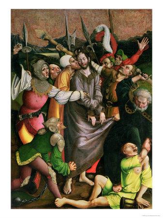 Christ arrested in the Garden of Gethsemane, Jörg Breu the Elder (ca. 1475-1537)