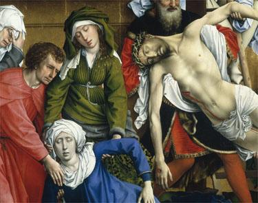 The Deposition, Rogier van der Weyden, 1399/1400 - 1464