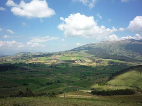 Imbabura countryside