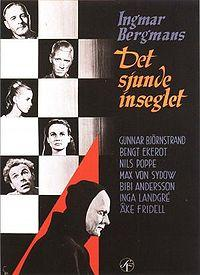 Ingmar Bergman's The Seventh Seal dramatized the existential crisis of death, who here visits a knight, one of the elites of the medieval world.
