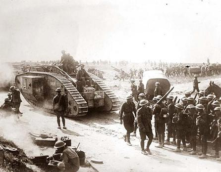 The tank was another transformative technology, but it had to wait for the Second World War for its successful exploitation.