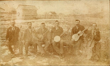 The Swannannoa String Band in 1895.