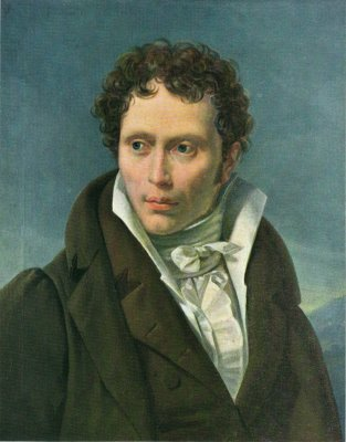 Schopenhauer as a young man.