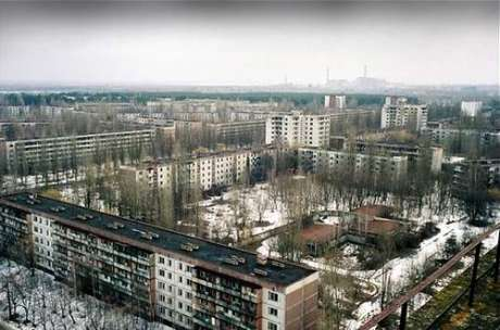 Pripyat, near Chernobyl, was abandoned not due to natural disaster or to changed economic conditions, but to a man-made disaster.