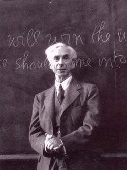 Bertrand Russell lecturing at University of California Los Angeles in 1939; Russell was one of the great iconoclasts of recent philosophy, and he often expressed his iconoclasm in compelling prose.