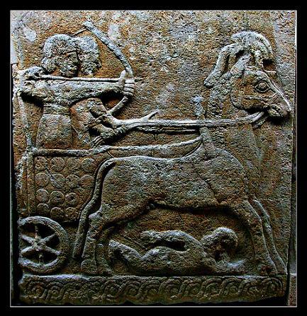 Hittite chariot archer