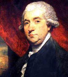 James Boswell, obsessive-compulsive journalizer of Samuel Johnson's life.