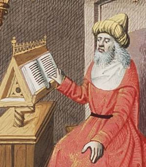 It all goes back to Plato, here shown in an imaginary medieval portrait.