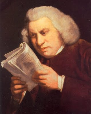 Would Samuel Johnson be committed today for disinterest in personal care?