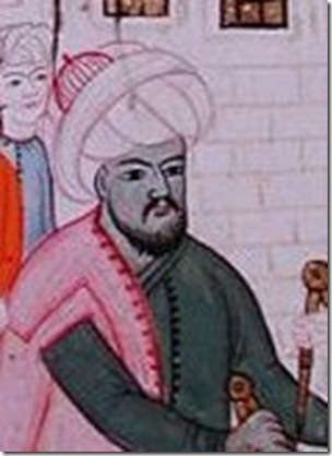 Taqi al-Din, Muslim polymath. Like Hero of Alexandria, his inventions remained mostly curiosities.