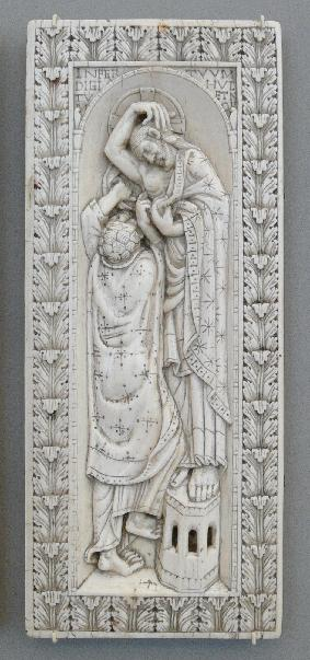 Ivory diptych from Trier showing Doubting Thomas (c. end of the tenth century)