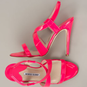 For some, conspicuous consumption takes the form of Manolo Blahnik shoes.