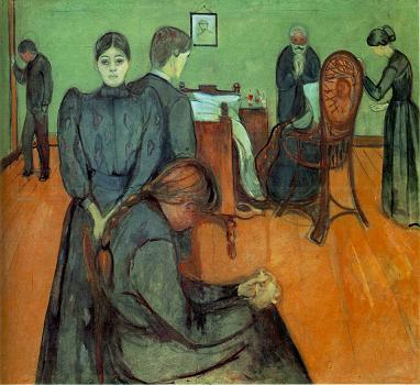Munch, Death in the Sick-Room
