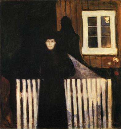 Munch, Moonlight, 1893