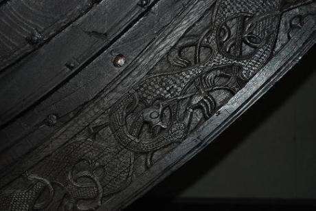 Oseberg carvings
