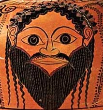 Dionysos, to whom the Dionysia Festival was dedicated, celebrated with dramatic productions.