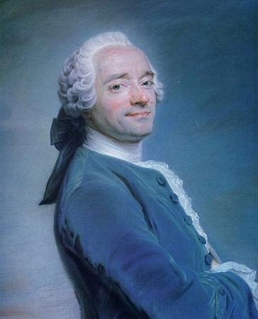 The smile of the Enlightenment: a self portrait of Maurice Quentin de La Tour
