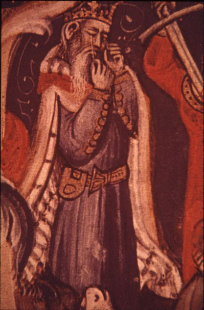 A medieval depiction of Oedipus: 'Sophocles long ago Heard it on the Ægæan, and it brought Into his mind the turbid ebb and flow Of human misery' according to Matthew Arnold.