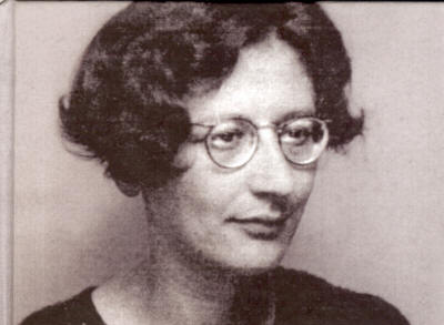 Simone Weil, 03 February 1909 to 24 August 1943
