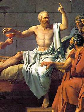 Thebes had the Sphinx; Athens had Socrates, and made him pay with his life for asking too many questions.