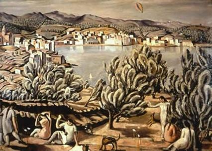 the master of surrealism grand strategy the view from oregon dali s cadaques of 1923 owes more than a little to cezanne it is an essay in the style of cezanne