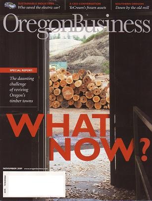 Oregon Business timber towns