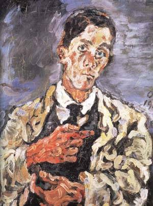 Oskar_Kokoschka_1917_Self_Portrait